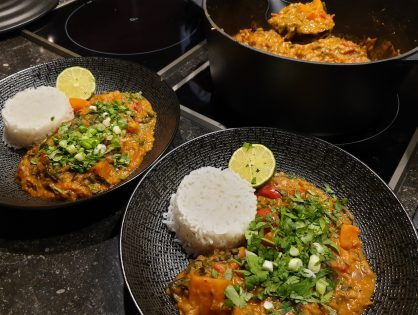 Vega curry/dahl