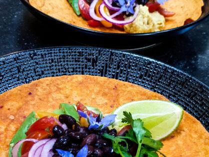 Veganlicious Wrap & Mais Hummus